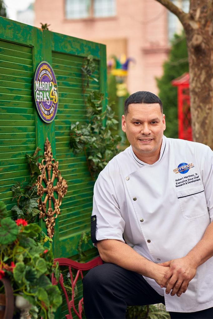 Chef Robert Martinez, Jr. (Executive Sous Chef, Research & Development)