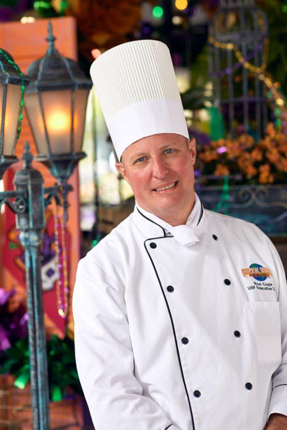 Chef Ron Cope - Universal Studios Florida