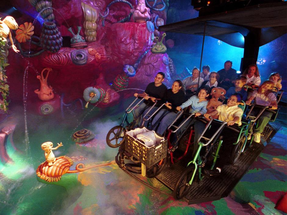 E.T. Adventure Ride,E.T. Adventure