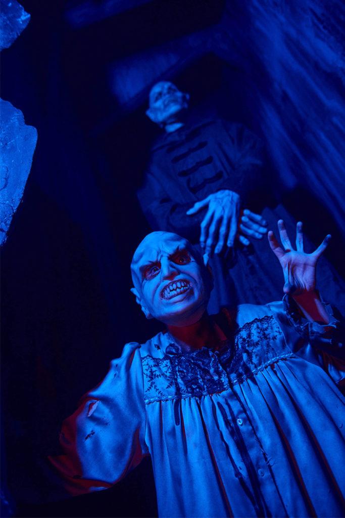 La colmena en las noches de terror de Halloween