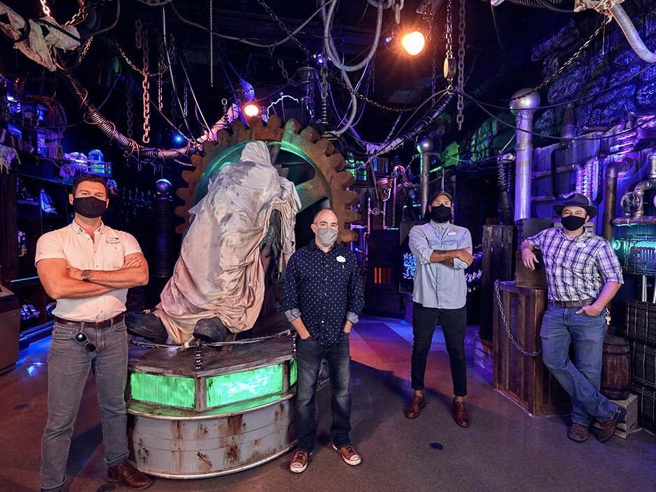 Halloween Horror Nights Tribute Store Design Team