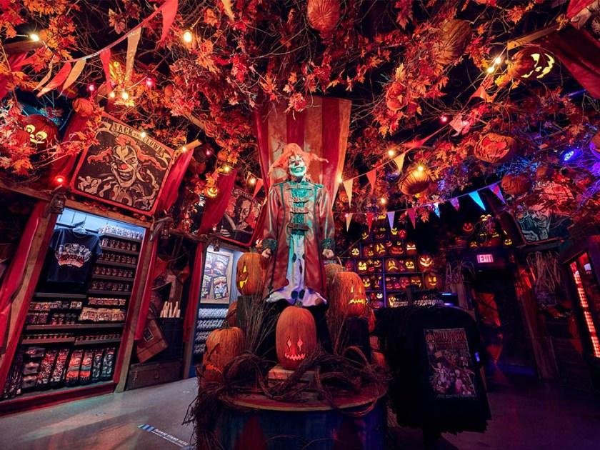 Tienda Tribute de Halloween Horror Nights