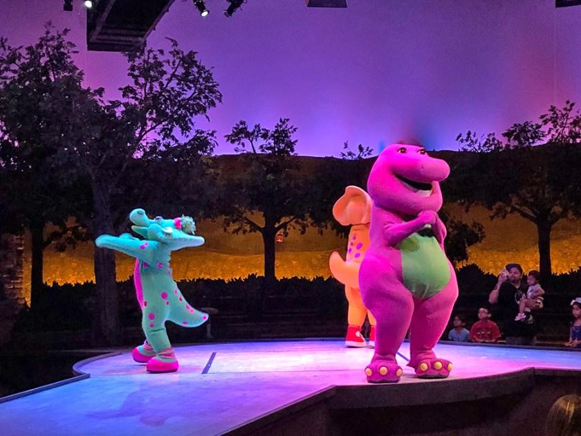 Un día en el parque con Barney en Universal Studios Florida