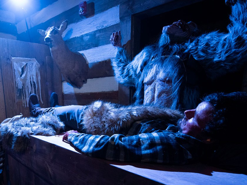 Halloween Horror Nights Casa encantada - Yeti Terror of the Yukon