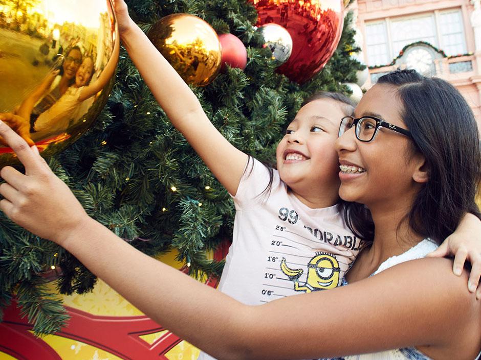 Christmas Tree at Universal Studios Florida