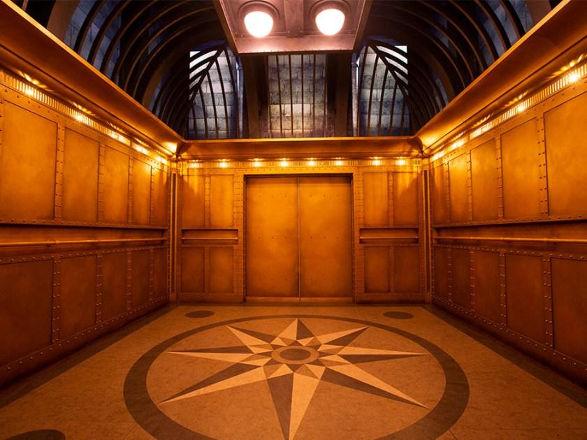 Harry Potter y la cola de escape de Gringotts - Ascensor