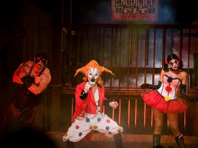Jack el payaso - El espectáculo del carnaval de Carnage