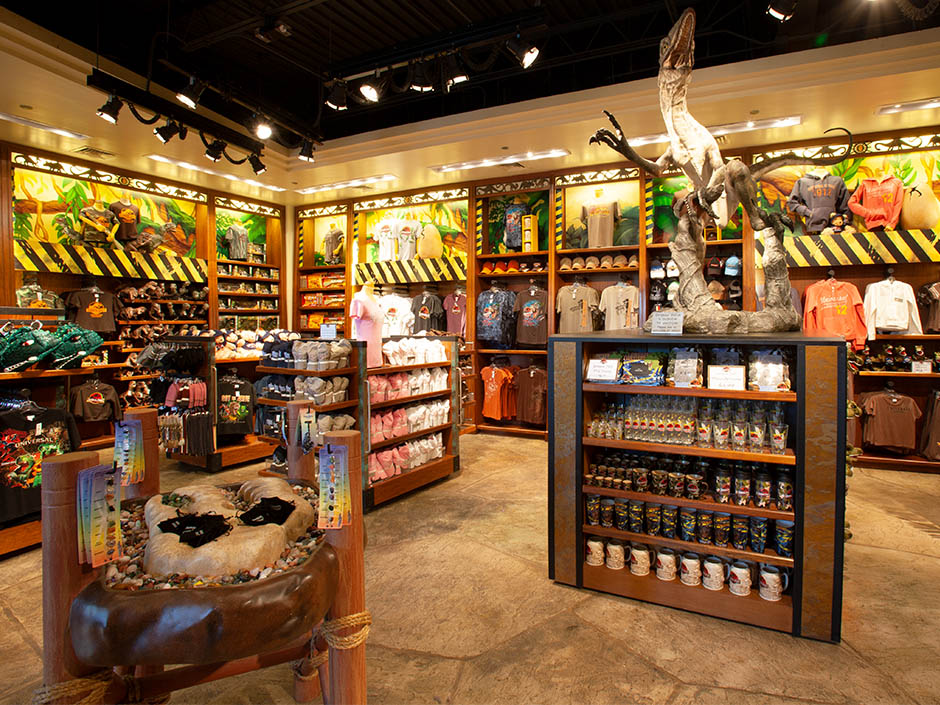 Jurassic Outfitters in Universal's Islands of Adventure