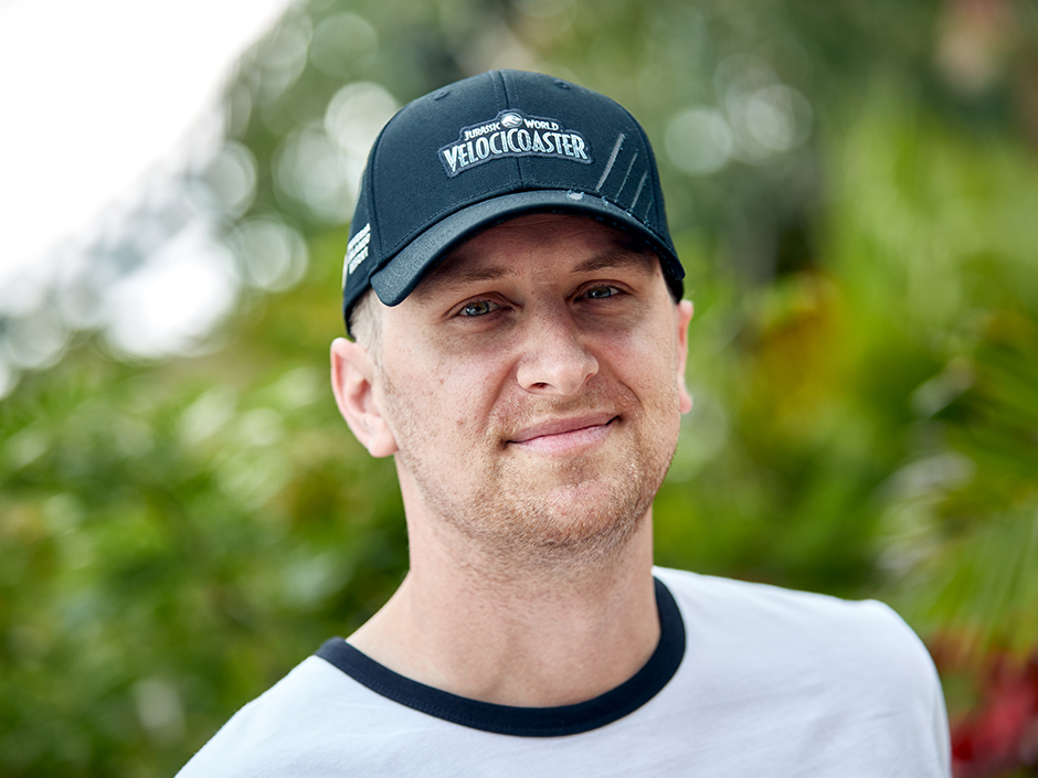 Jurassic World VelociCoaster Hat at Universal Orlando Resort