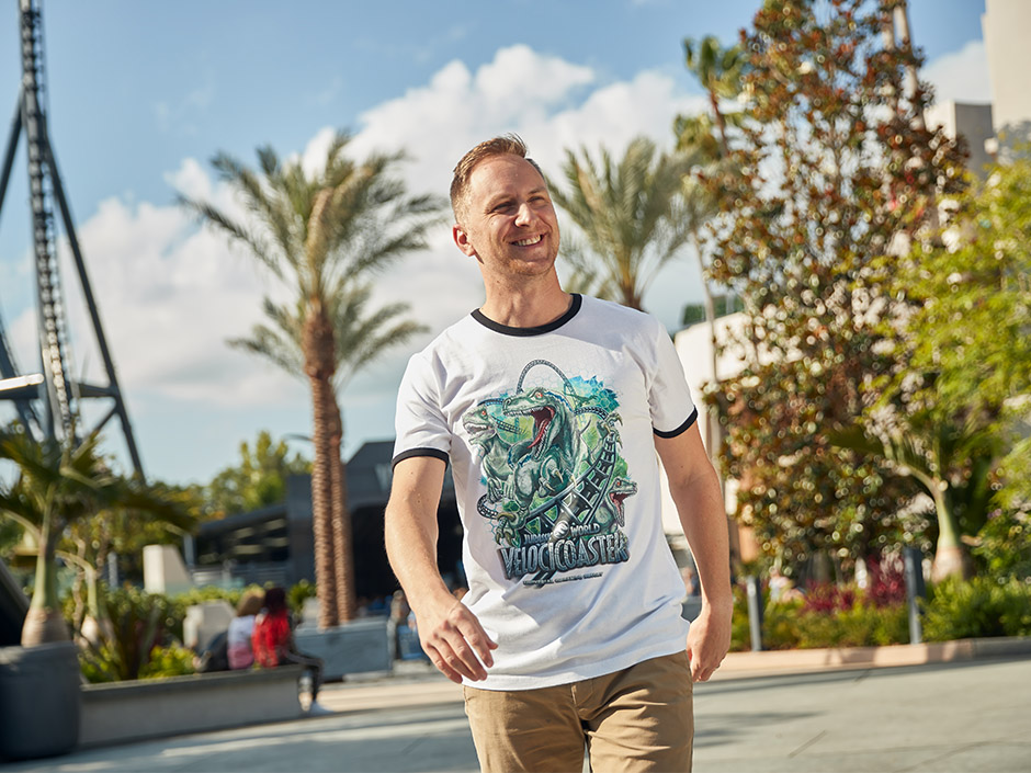 Jurassic World VelociCoaster T-Shirt at Universal Orlando Resort