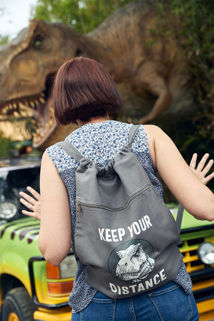 Keep Your Distance Jurassic World Backpack