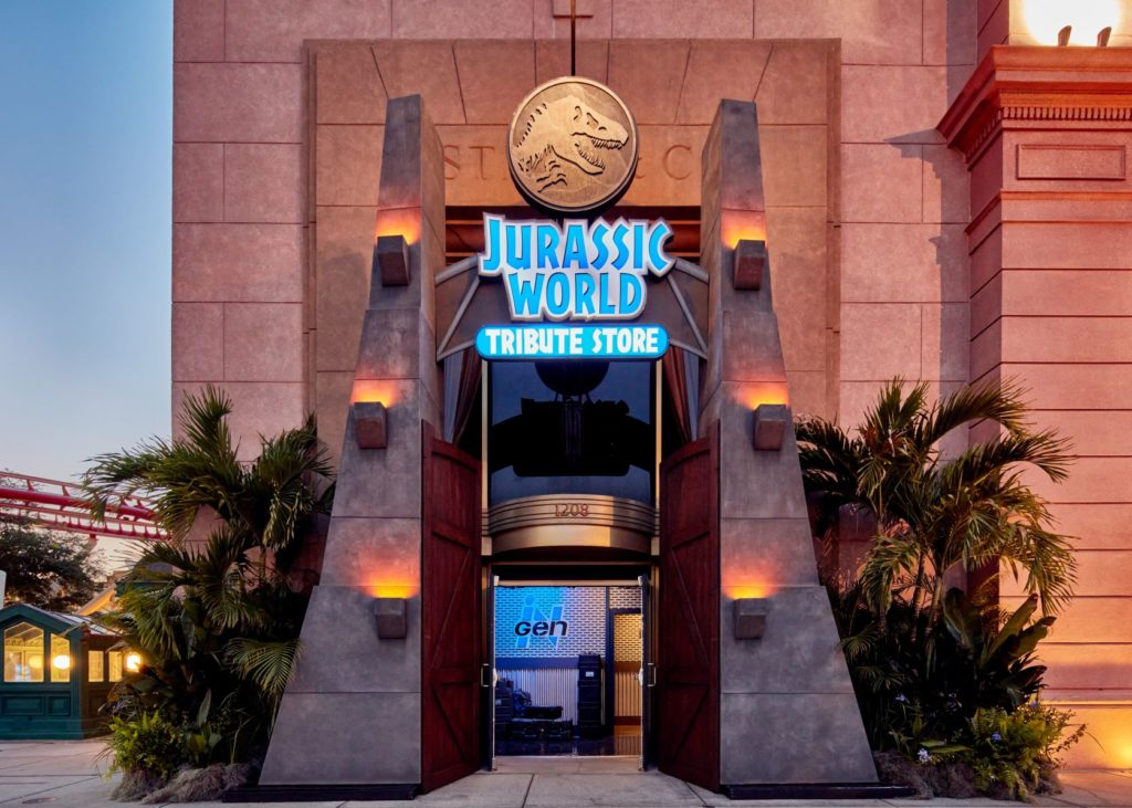 Universal Orlando Resort Introduces Summer Tribute Store Featuring The Blockbuster Franchise Jurassic World
