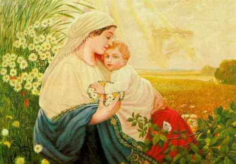 Mary and Jesus painting by Hitler,When free will collides with divine will