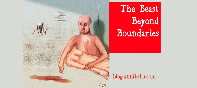 beast beyond boundaries, rape surreal art, rapist