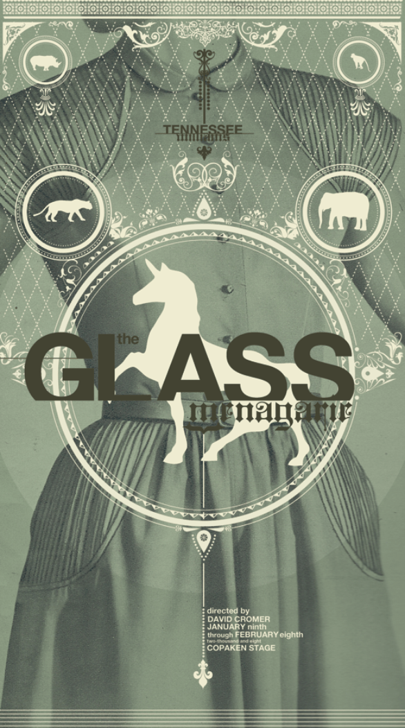 Poster Design Inspiration - Glass Menagerie