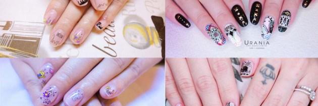 ♥ 美甲DIY手殘系福音!塗鴉風彩繪指甲