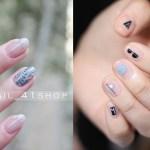 ♥ 春季的短指甲穿搭!百搭的春天風格