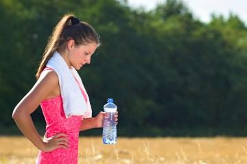 L'hydratation après une session running