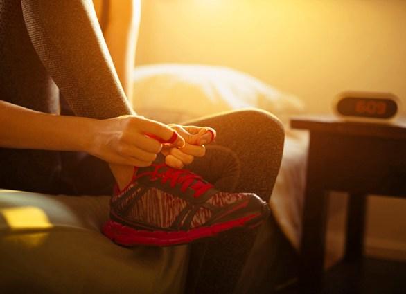 courir le matin