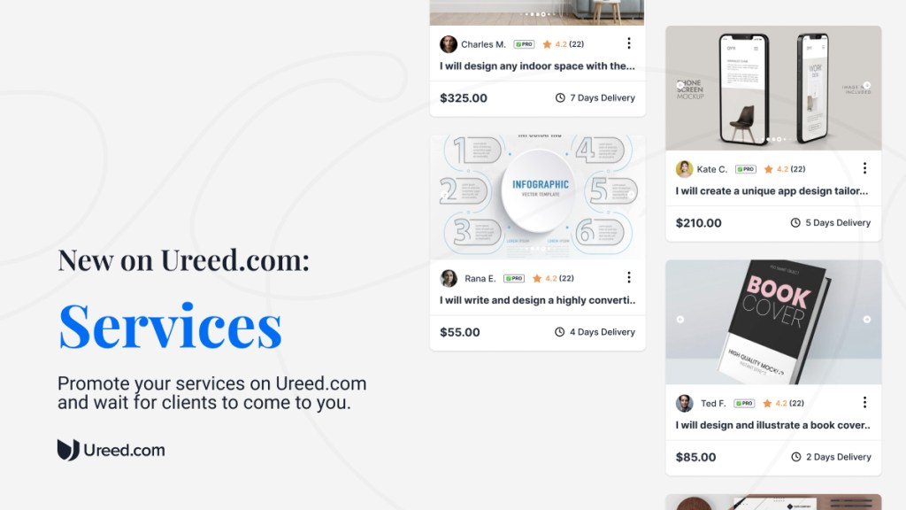Introducing a faster way to collaborate on Ureed.com: Services!