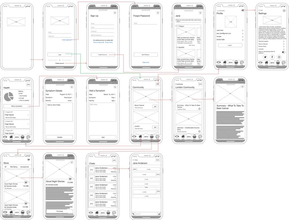 Careviz - Lean Startup healthcare app development case.