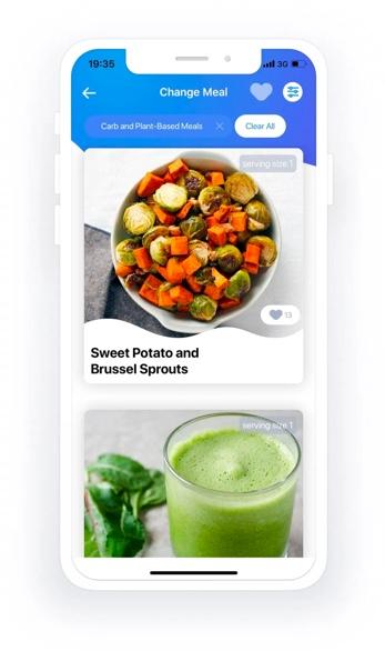 Foodfuels app design update 2