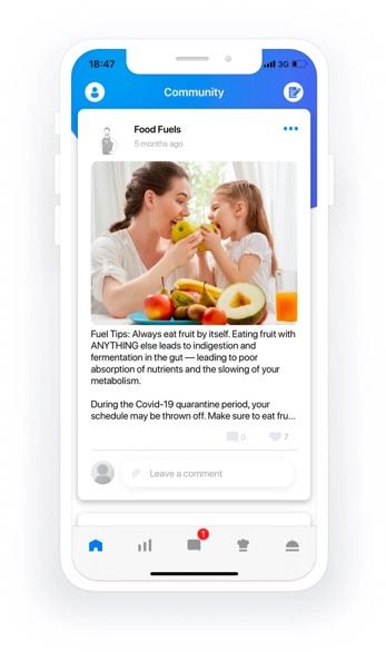 Foodfuels app design update 3