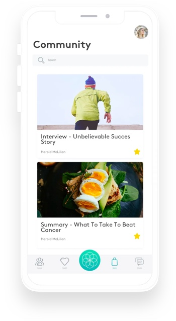 Careviz app design 4