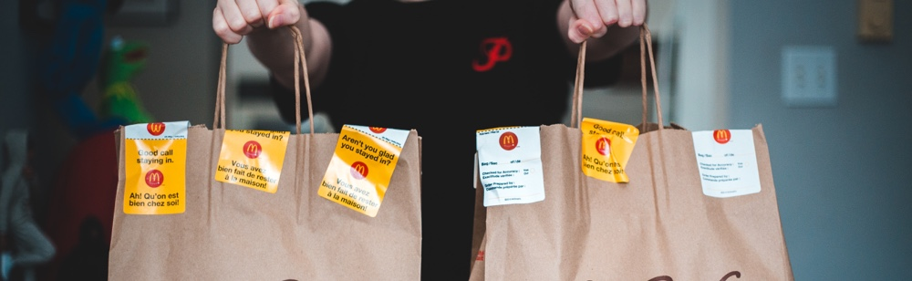 The rise of brand new food delivery channels. food delivery trends
