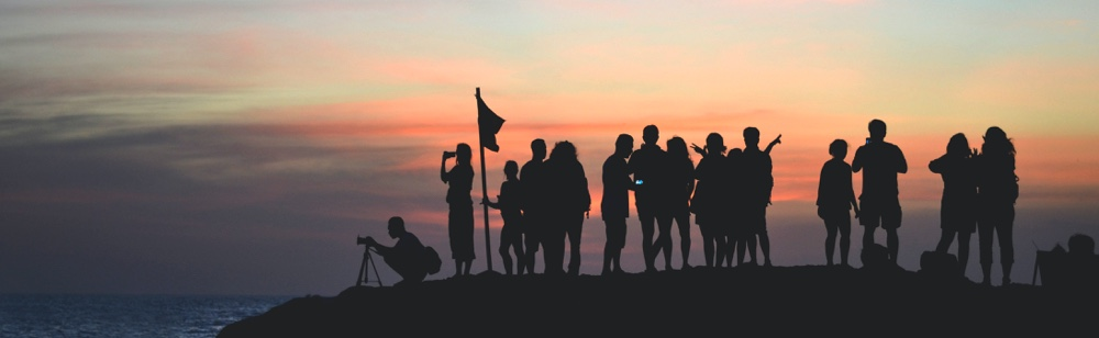 team. people on the mountain with flag. startup key factors
