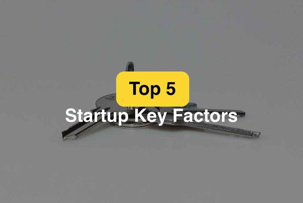 top 5 startup key factors cover