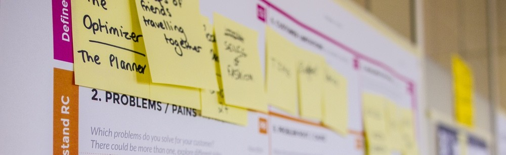 Lean startup developments and minimum viable products (MVP)