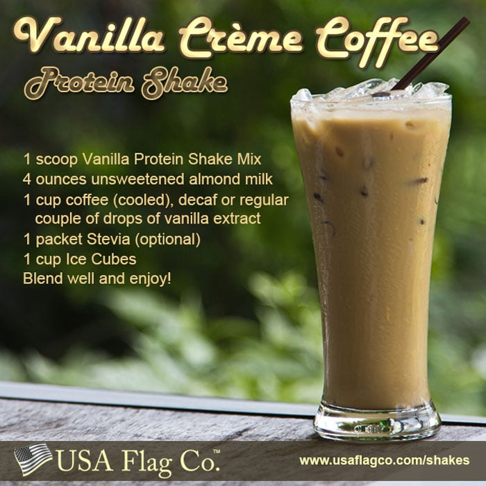 Learn how to make a delicious Vanilla Creme Coffee Protein Shake ideal for fitness competitors and bodybuilders including people who want to lose weight.