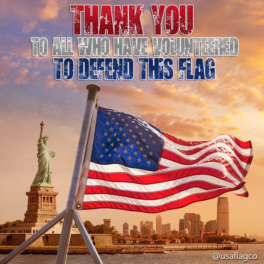 American Flag New York