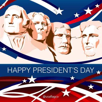 Happy President's Day   In the end, it's not the years in your life that count. It's the LIFE in your YEARS. -Abraham Lincoln