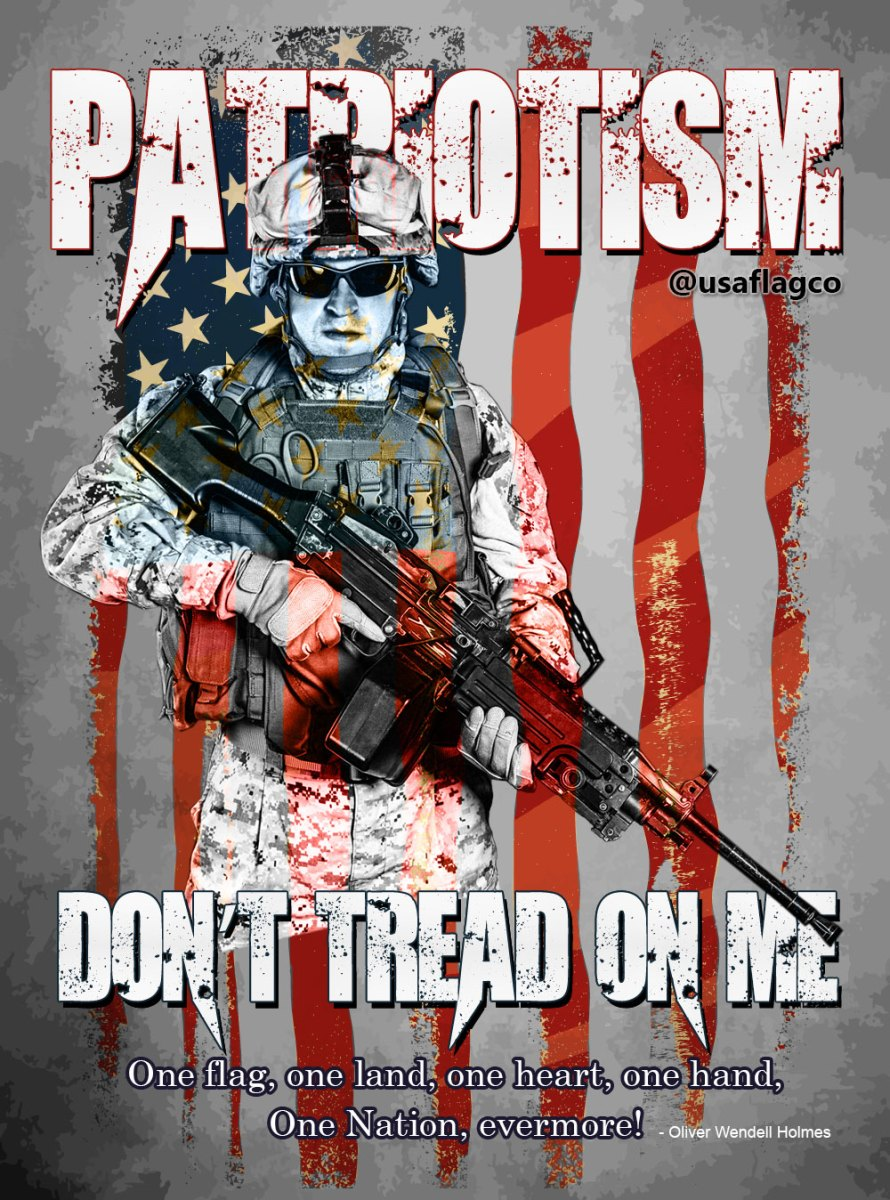 PATRIOTISM: Don't Tread On Me
