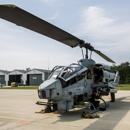 AH-1W Super Cobra Marine Corps Helicopter