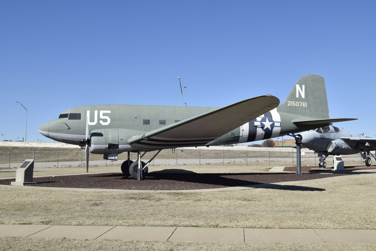The Douglas aircraft production facility produced 5,231 C-47s in Oklahoma City on what eventually became Tinker Air Force Base.