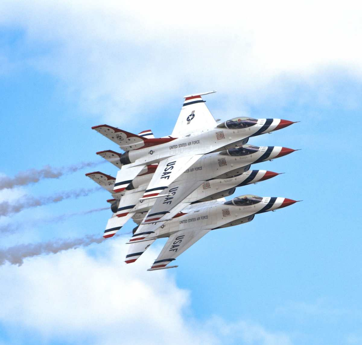 U.S. Air Force Thunderbirds 2017 Andrews Air Show