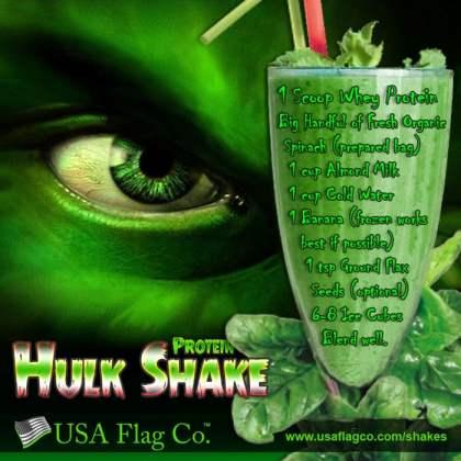 Hulk Protein Shake