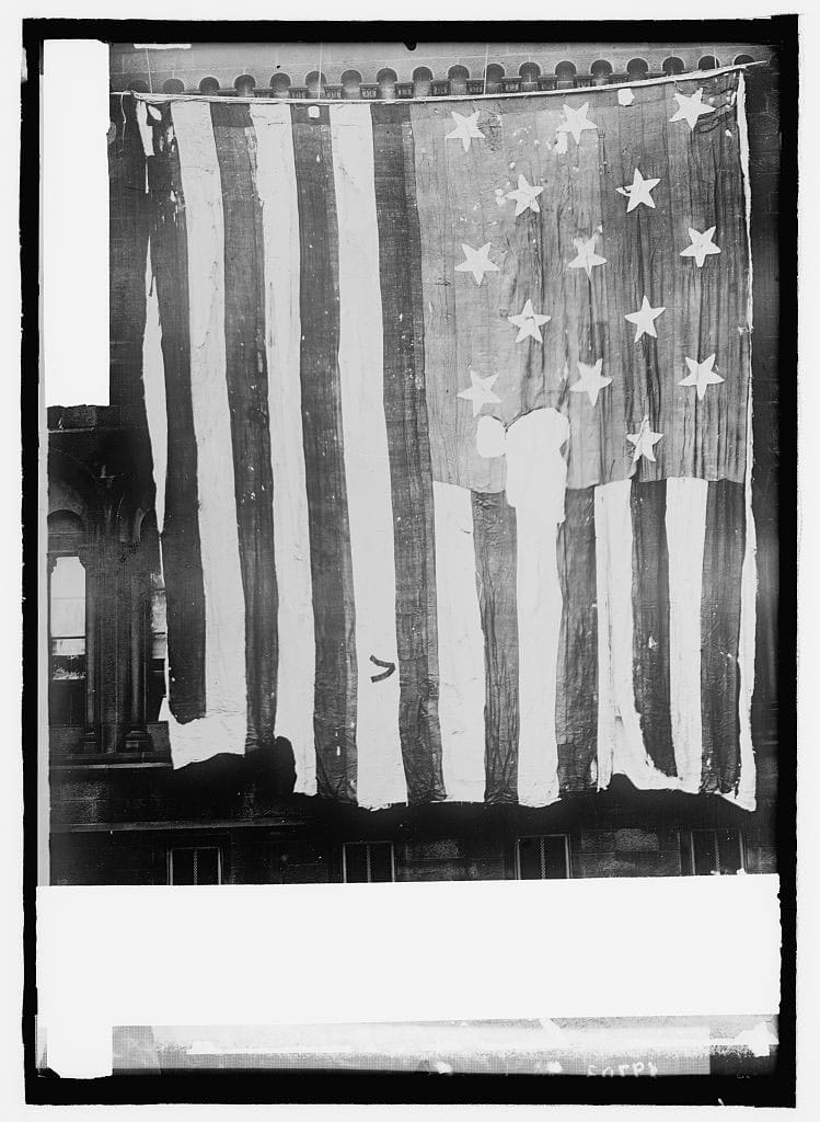 "The original Star Spangled Banner flag ""Museum""."