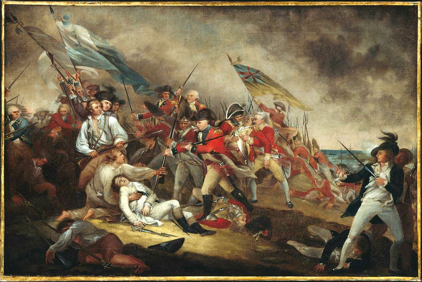 The Death of General Warren at the Battle of Bunker Hill by John Trumbull. [2]