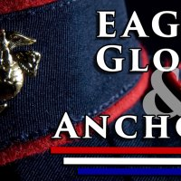 What does the Marines Eagle Globe and Anchor stand for?
