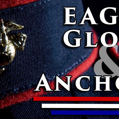 The Marines Symbolic Eagle Globe and Anchor Emblem is the official emblem and insignia of the United States Marine Corps. It is commonly referred to as an (EGA) Eagle, Globe and Anchor representing core values of honor, courage, and commitment.