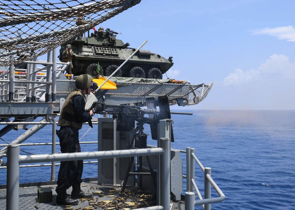 USS Wasp Gunners Mate
