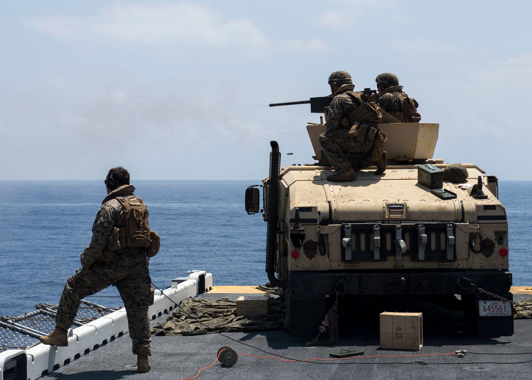 Marines Humvee