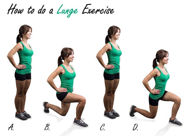 How to do a Lunge Exericse