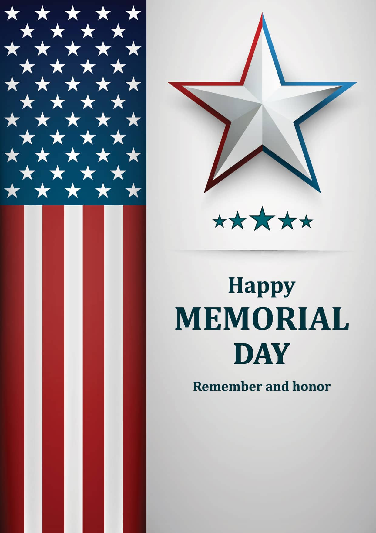 Happy Memorial Day - Remember and honor!