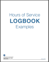 hours of service requirements and drivers log book examples