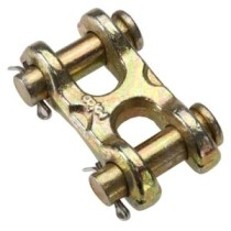 carbon steel twin clevis link from USCargoControl.com